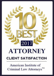 OKC Criminal Defense Attorney Marcy Fassio was awarded the 10 Best 2017 Client Satisfaction Award.